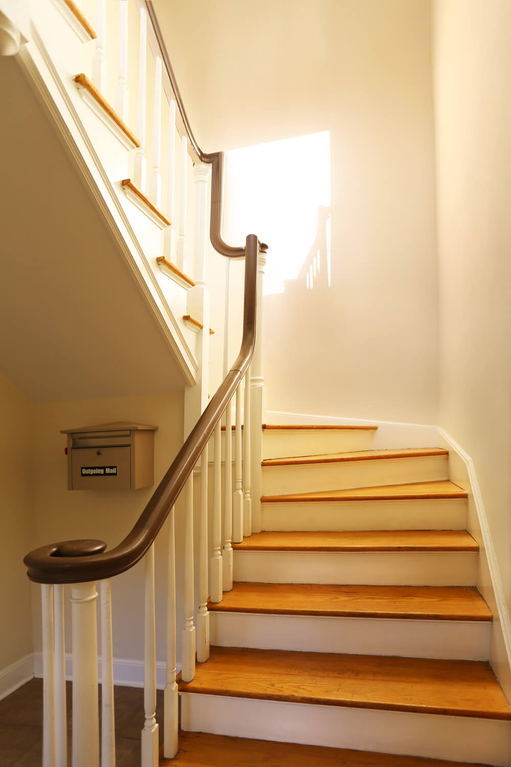 Adams Avenue Flats Designed by Foshee Architecture - Interior View of the Stairs