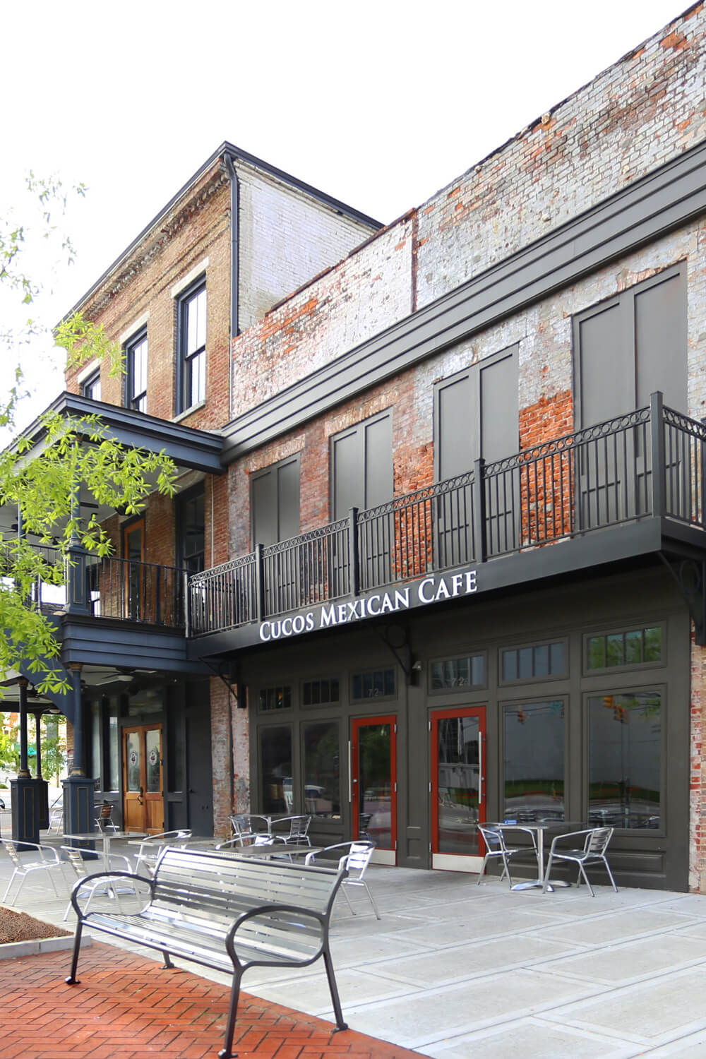 Cuco's Mexican Café Restaurant Designed by Foshee Architecture – View of the Exterior