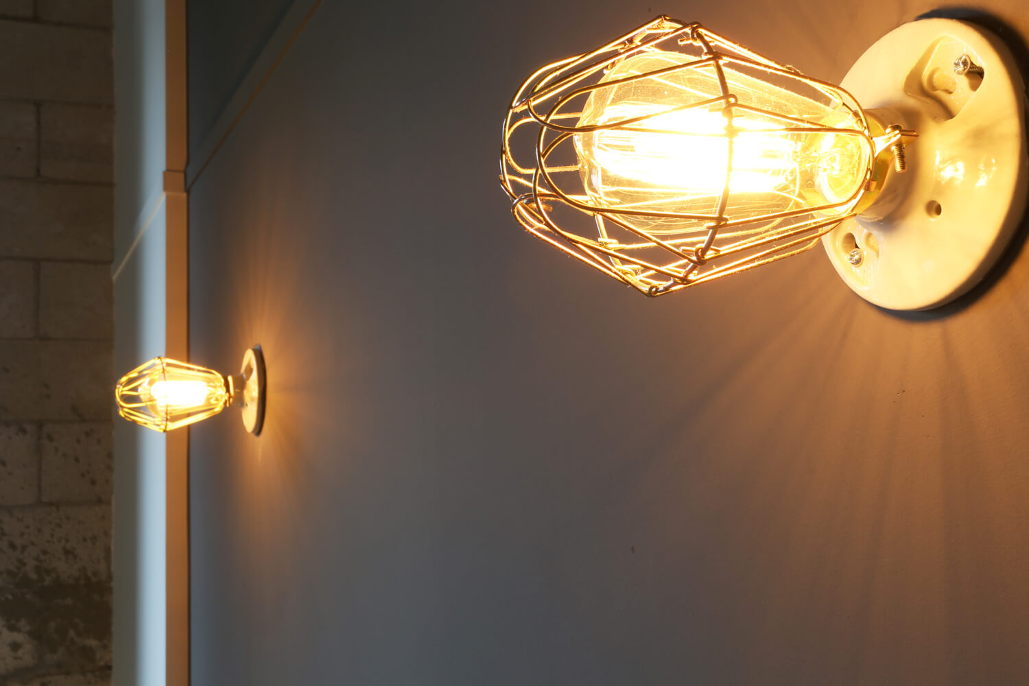 District 36 Lofts Designed by Foshee Architecture - Wall Sconce at Apartment