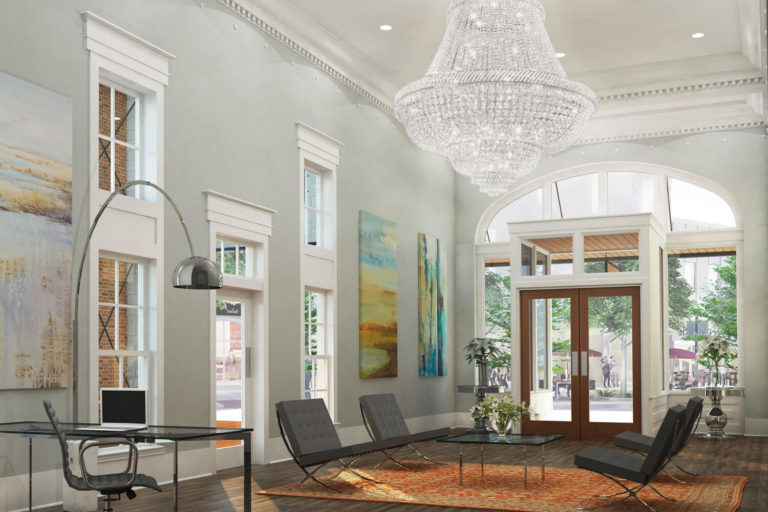 Ruth and Sons Designed by Foshee Architecture – Artist Depiction and Rendering of Interior
