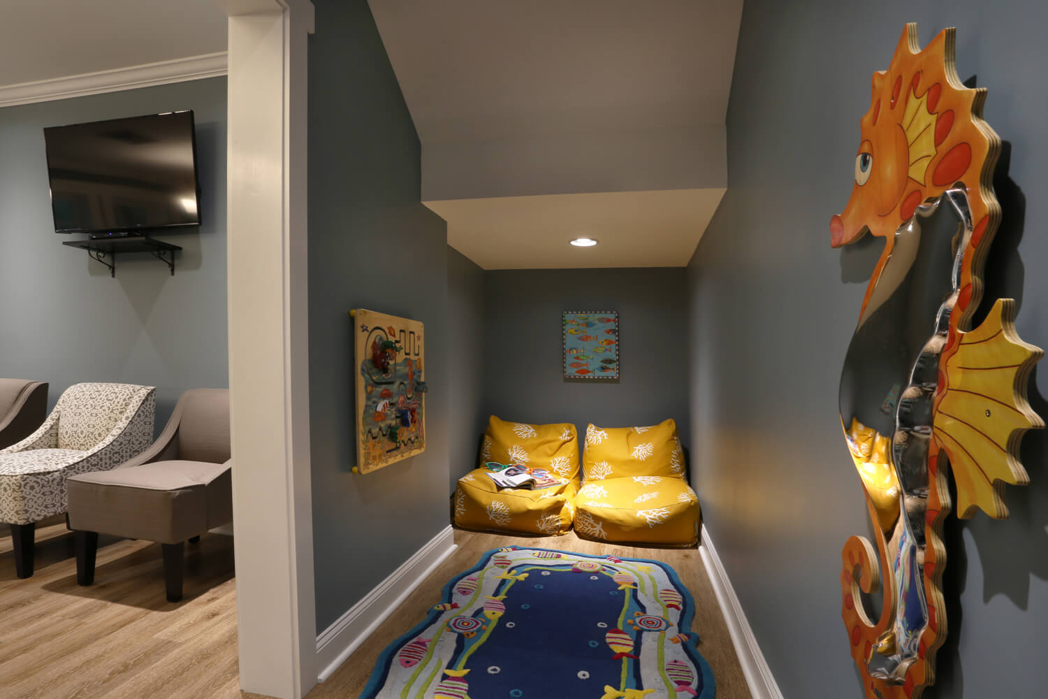 Pike Road Family Eyecare Designed by Foshee Architecture – Children's Play Area