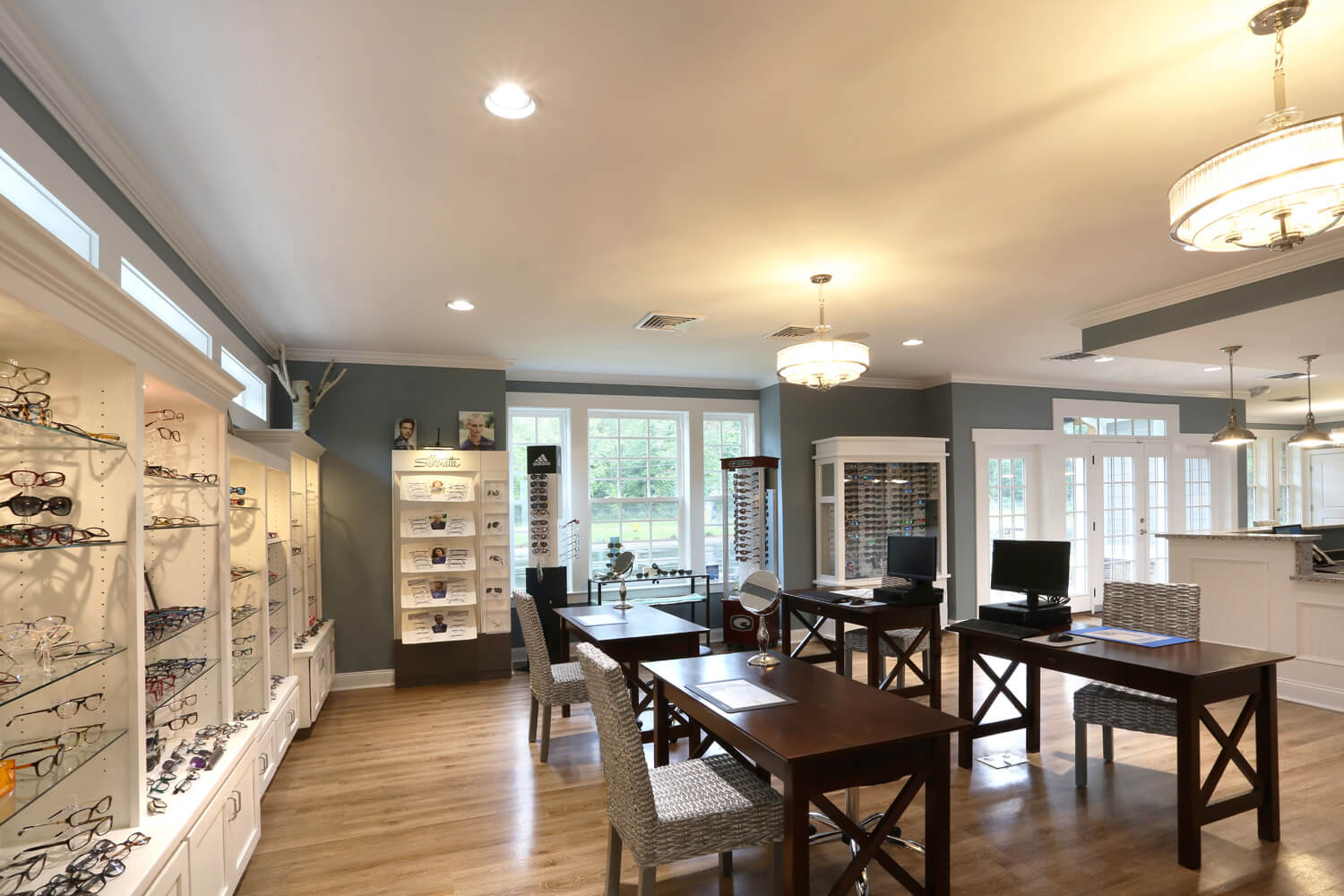 Pike Road Family Eyecare Designed by Foshee Architecture – Eyeglass Fitting Tables