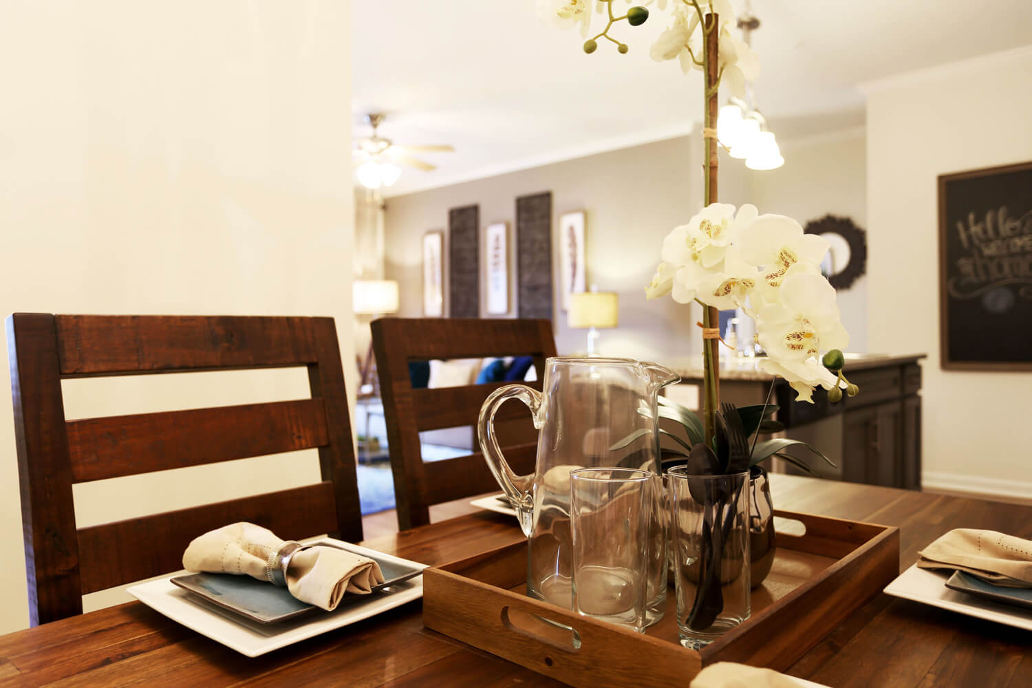 The Morgan Apartments Designed by Foshee Architecture - Dining Room