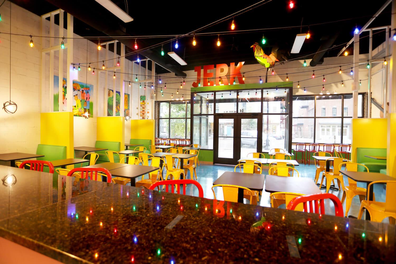 Designed by Foshee Architecture – Island Delight Restaurant Entrance