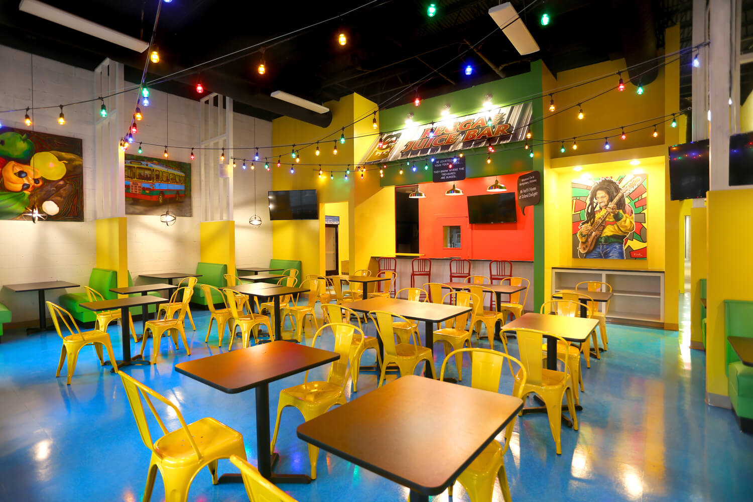 Designed by Foshee Architecture – Island Delight Restaurant Juice Bar
