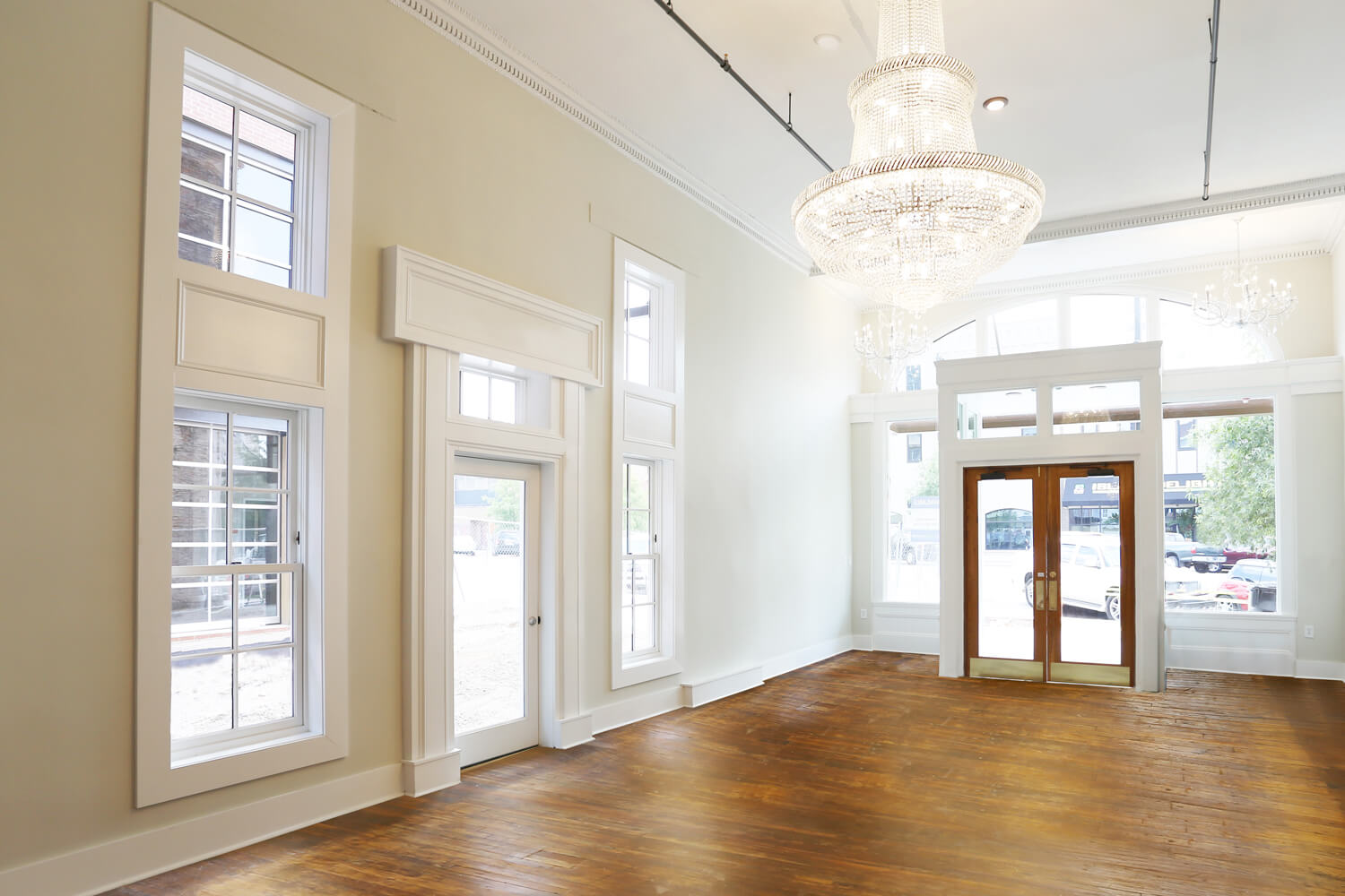 Designed by Foshee Architecture – Ruth and Sons Building - 1st Floor Lobby
