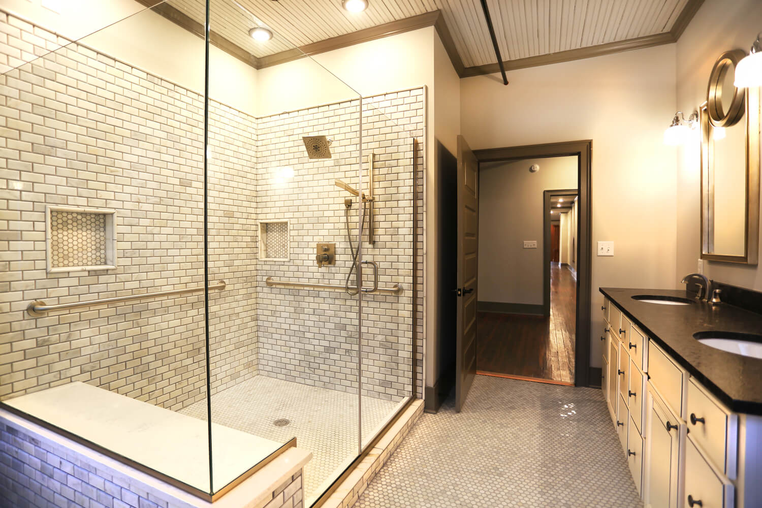 Ruth and Sons Building - Designed by Foshee Architecture – 3rd Floor Bathroom