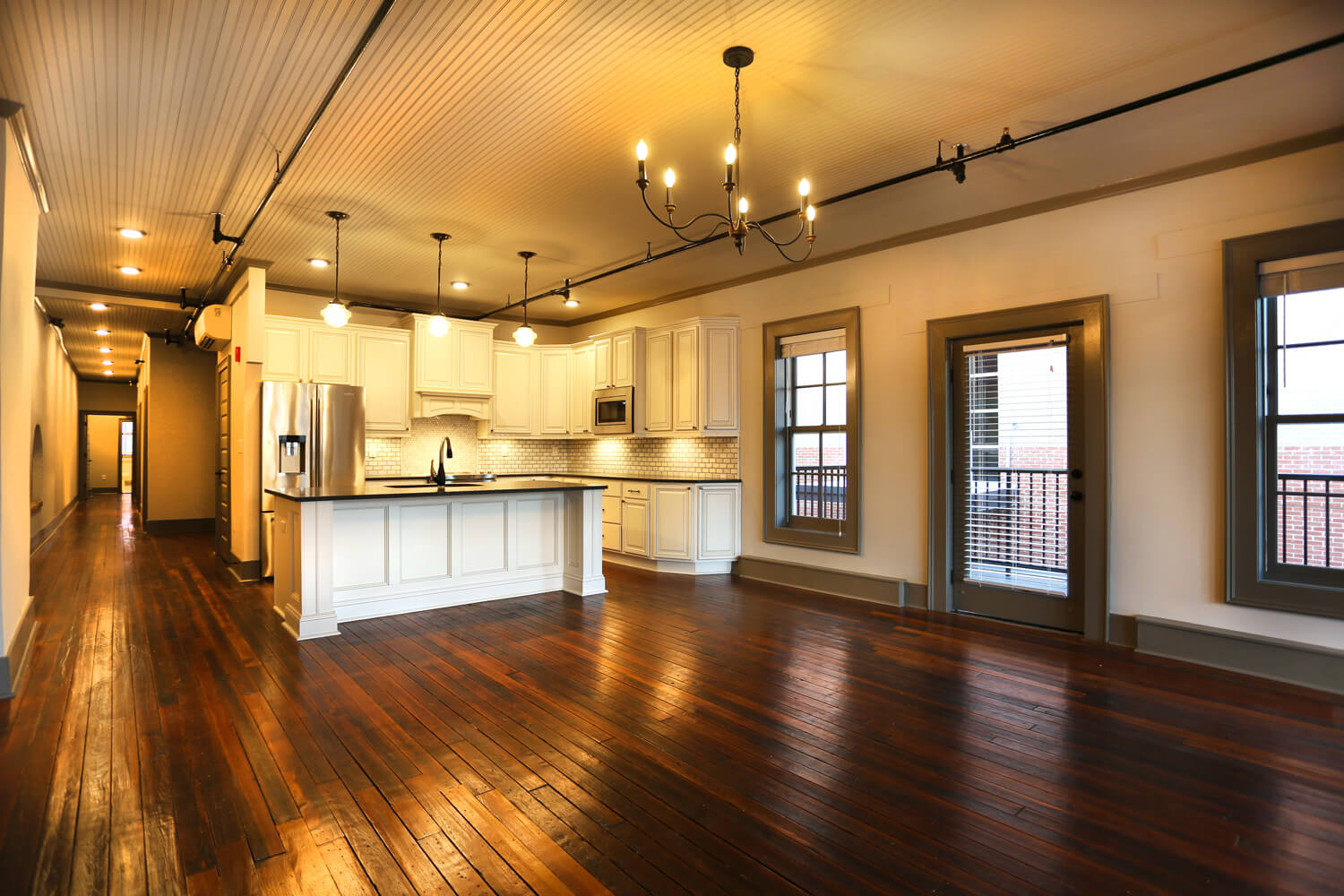 Ruth and Sons Building - Designed by Foshee Architecture – 3rd Floor Kitchen