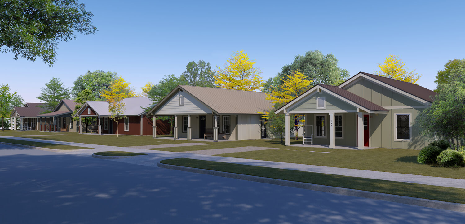 Designed by Foshee Architecture – Loco Homes Affordable and Efficient
