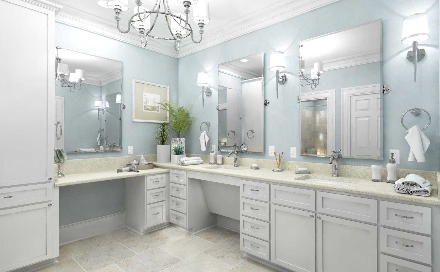 Designed by Foshee Architecture – Private Residence 3 Master Bath