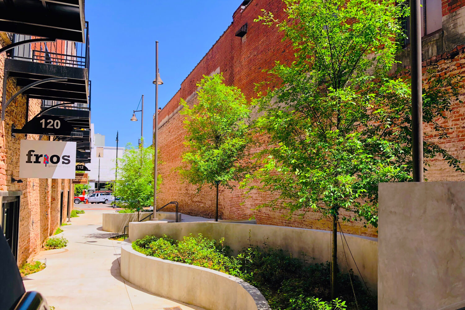 Dexter Alley Looking Towards Dexter Ave - Designed by Foshee Architecture