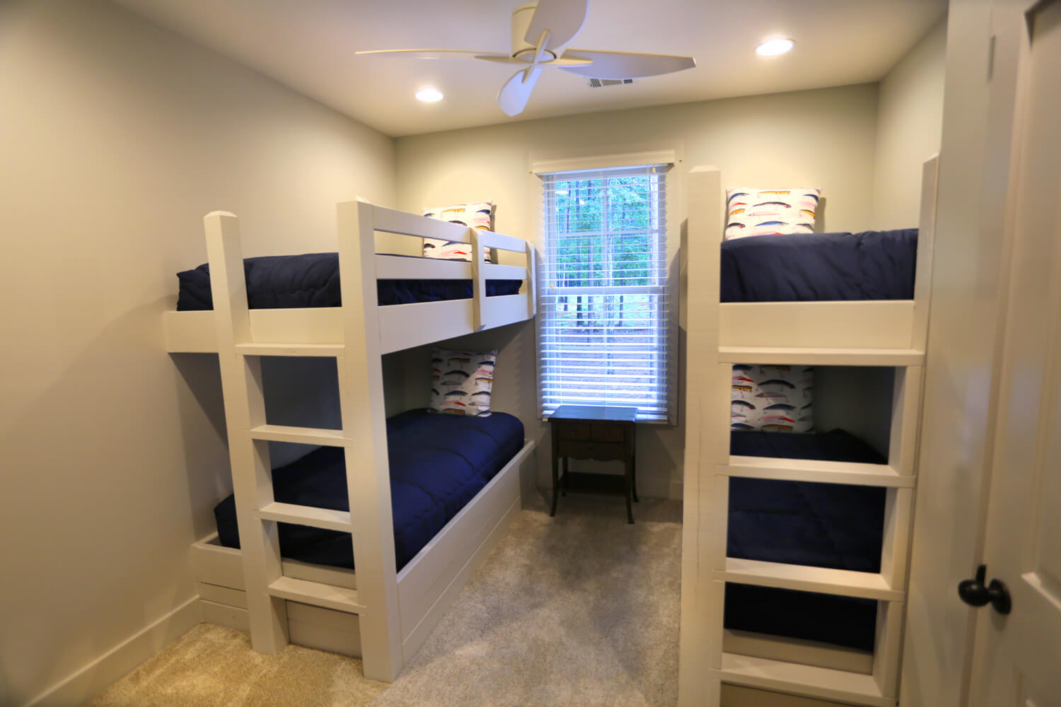 Lake Martin Cabin - Bunkbeds Upstairs - Designed by Foshee Architecture