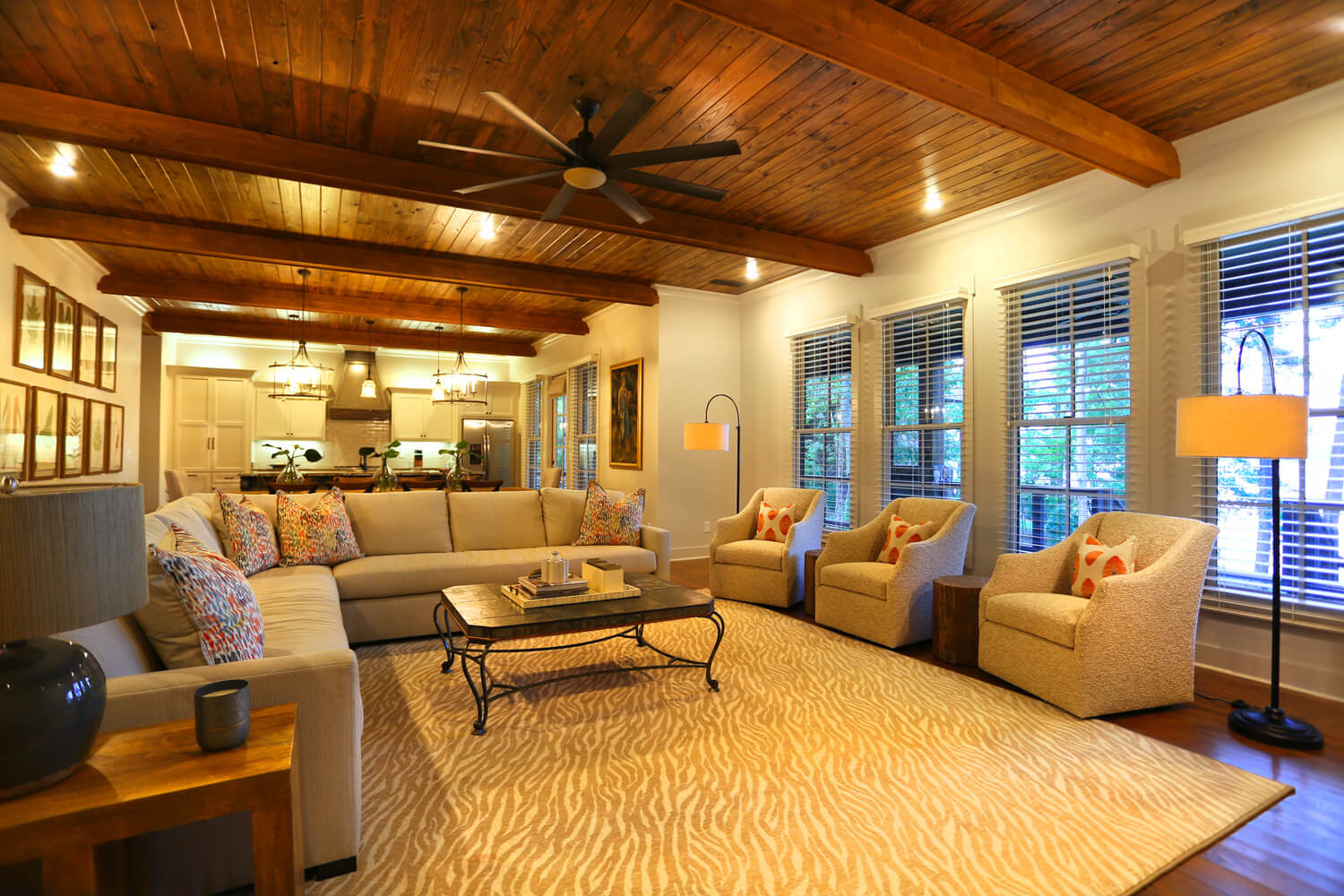 Lake Martin Cabin - Family Room - Designed by Foshee Architecture