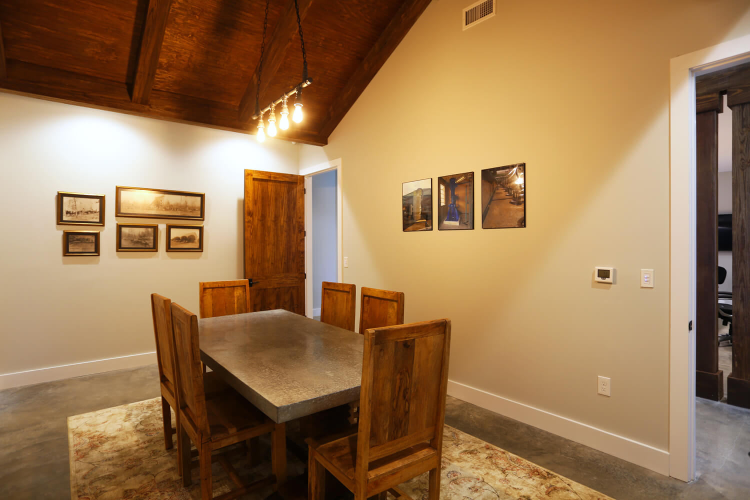 Johnson Office - Conference Room - Designed by Foshee Architecture