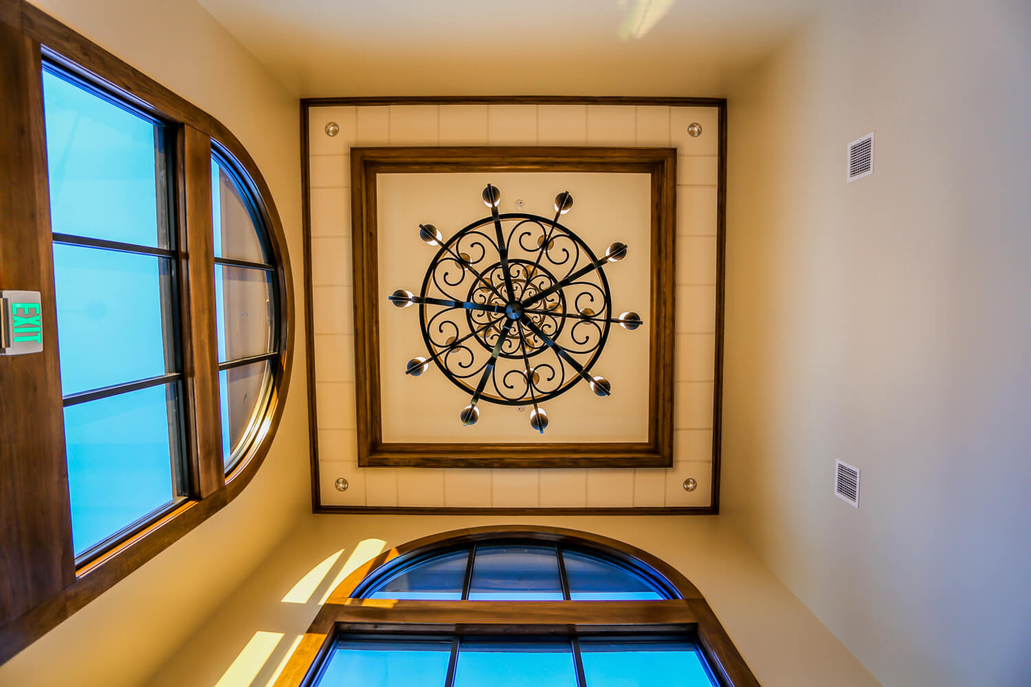 First Cahawba Bank - Tower Ceiling - Designed by Foshee Architecture