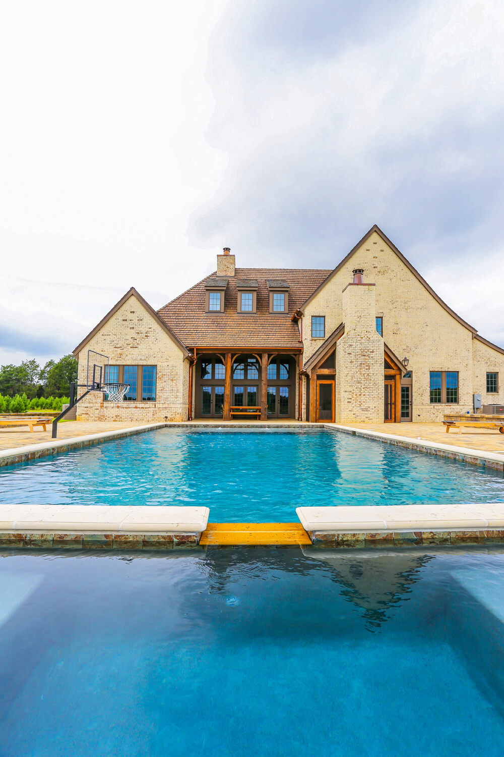 Private Residence - View from Pool - Designed by Foshee Architecture