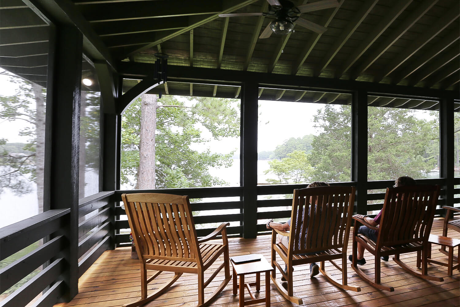 Lake Home - Screened Porch - Designed by Foshee Architecture
