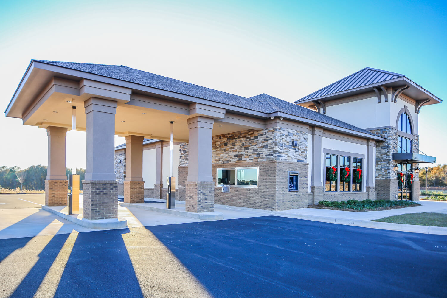 First Cahawba Bank - Teller Drive Through - Designed by Foshee Architecture