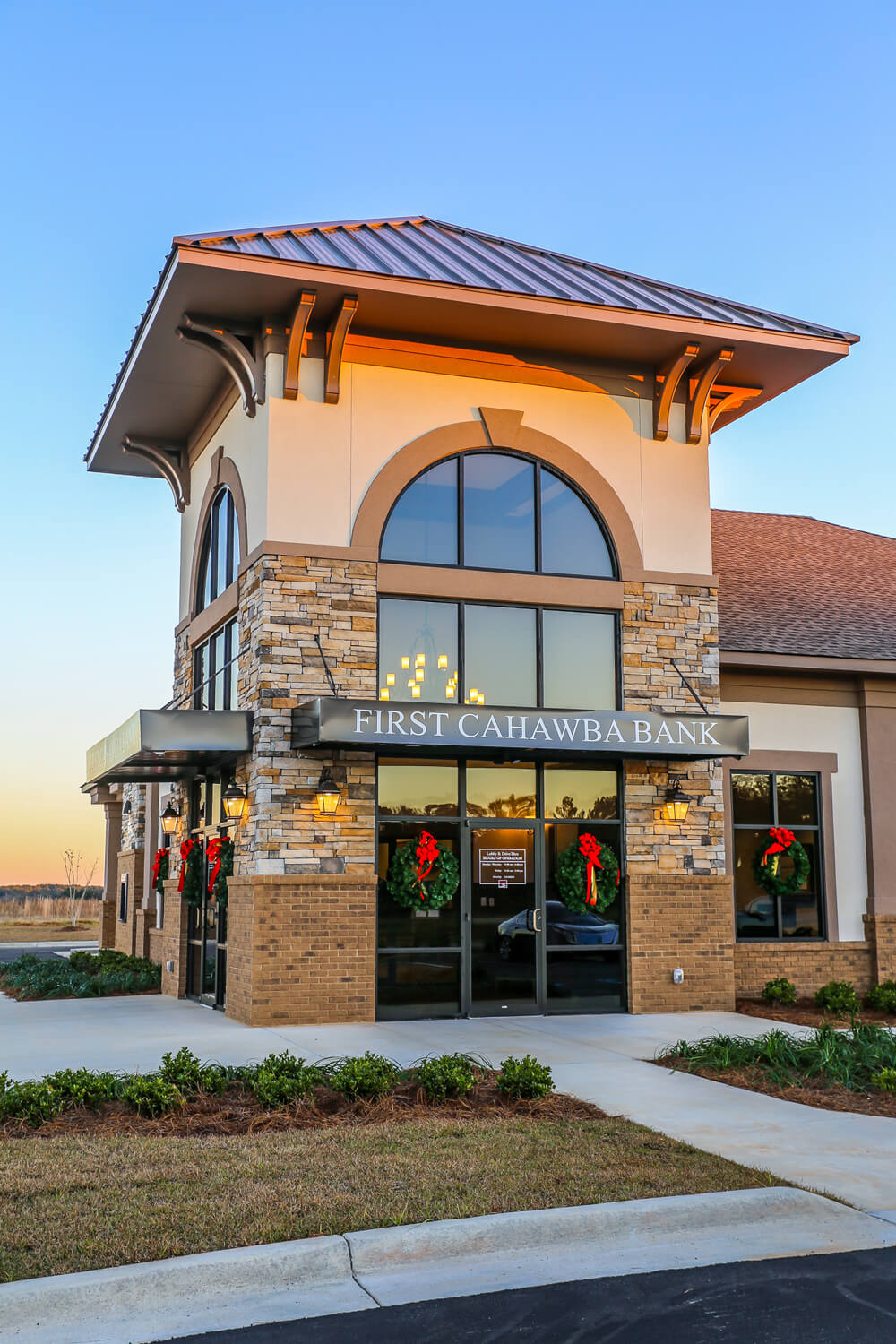 First Cahawba Bank - Entry Tower - Designed by Foshee Architecture