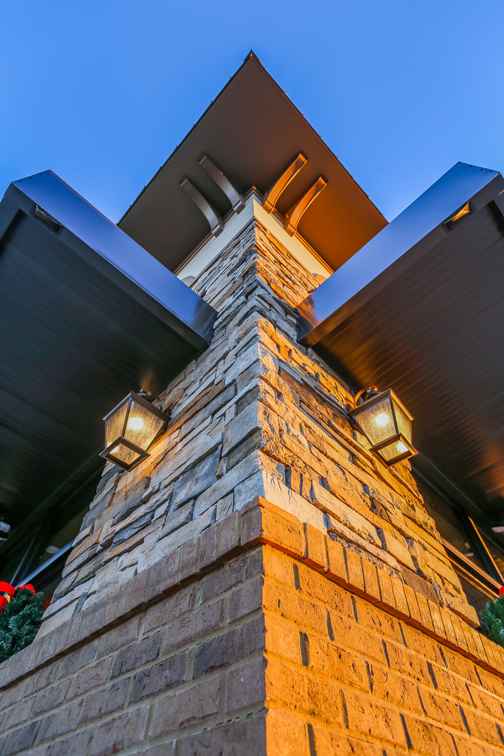 First Cahawba Bank - Tower Detail - Designed by Foshee Architecture