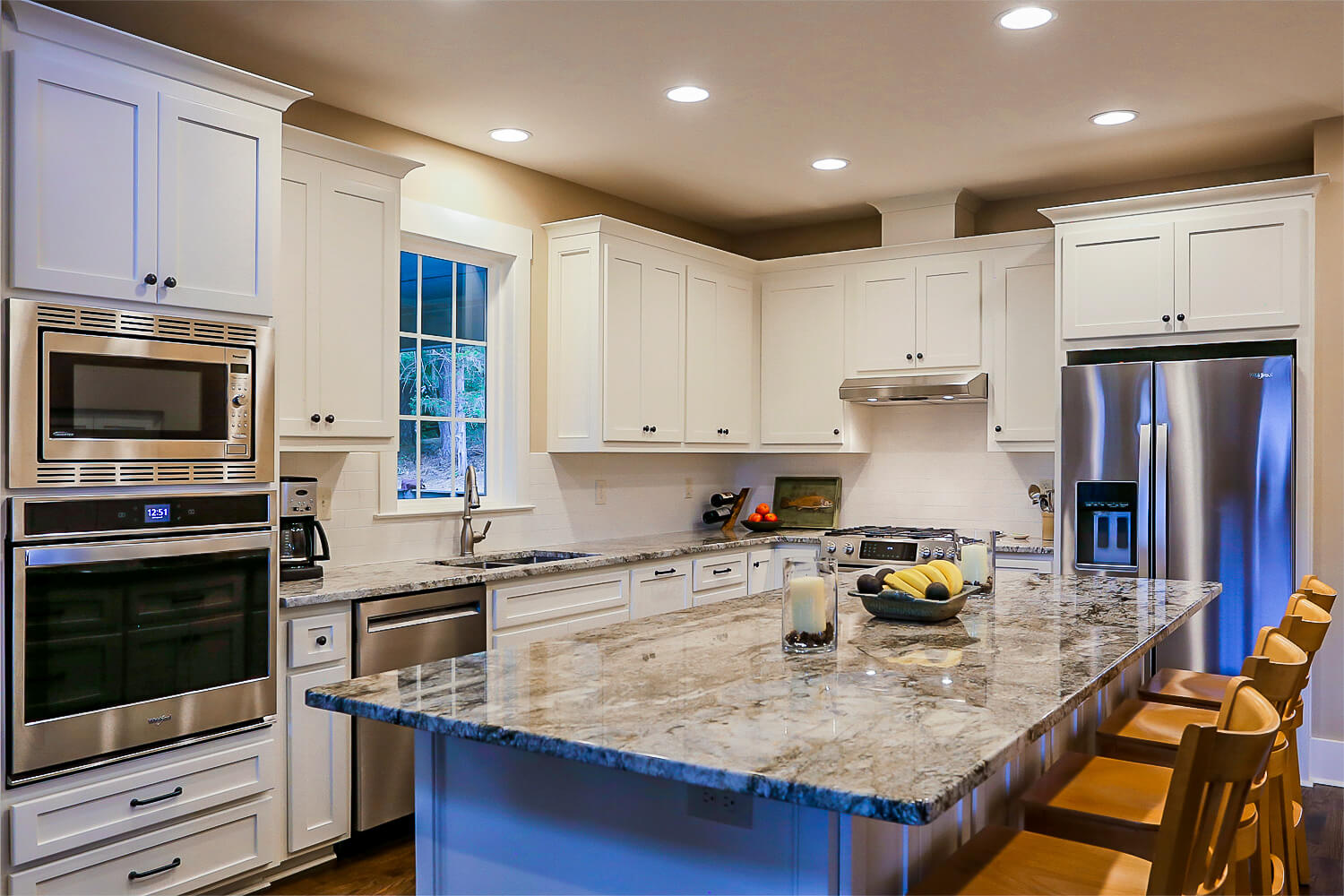 Lake Home - Kitchen - Designed by Foshee Architecture