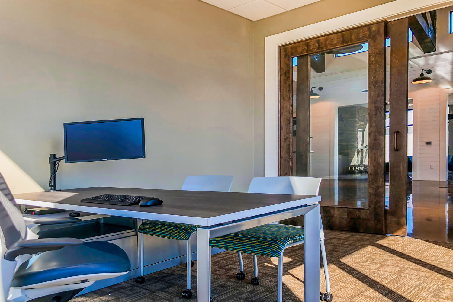 Guardian Credit Union - Private Office - Designed by Foshee Architecture