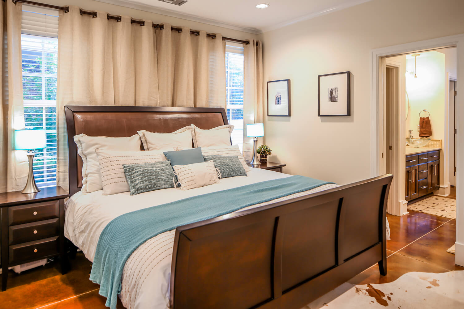 Lockwood Residence - Master Bedroom - Designed by Foshee Architecture