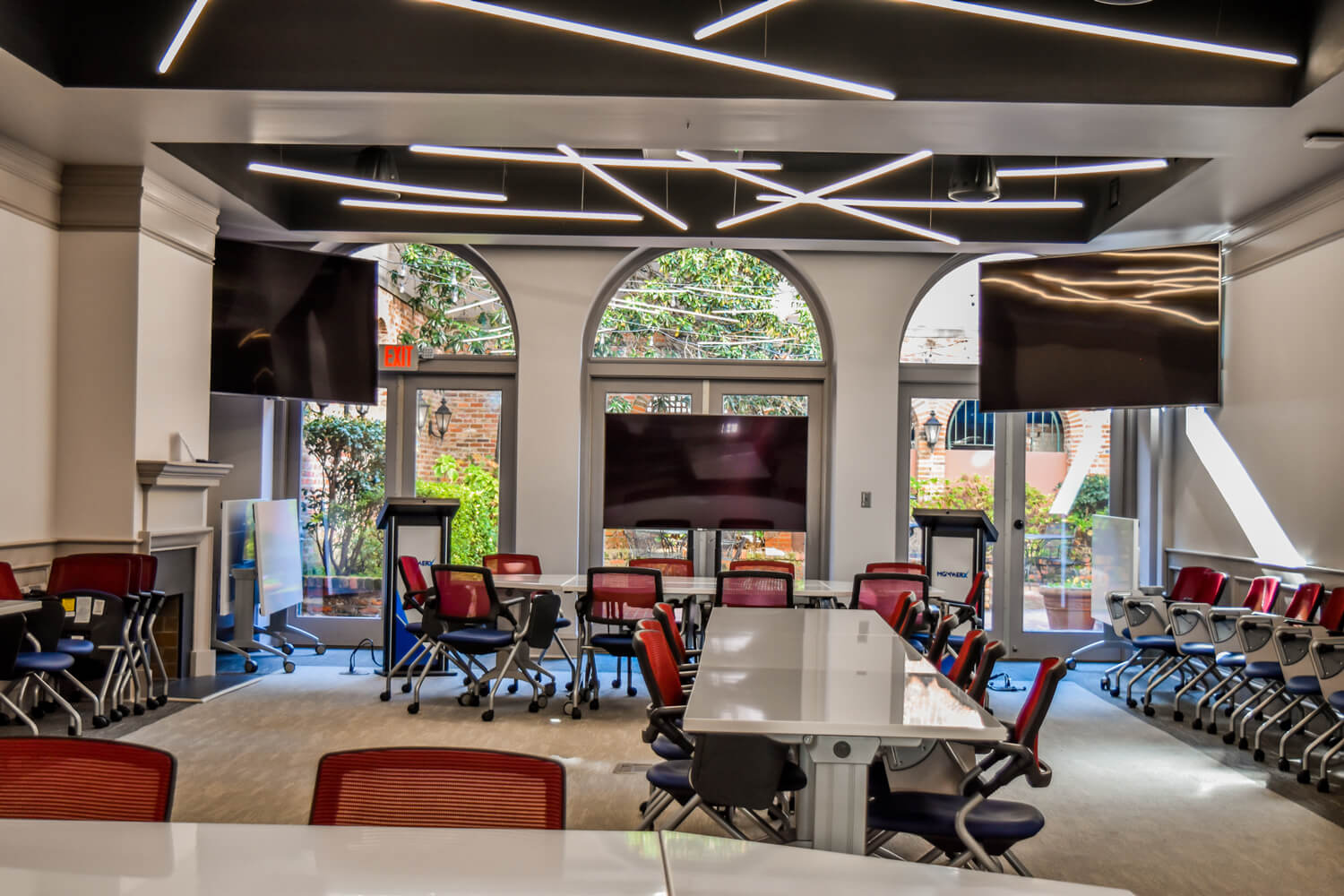 MGMWerx Collaboration Space - Meeting Room - Designed by Foshee Architecture