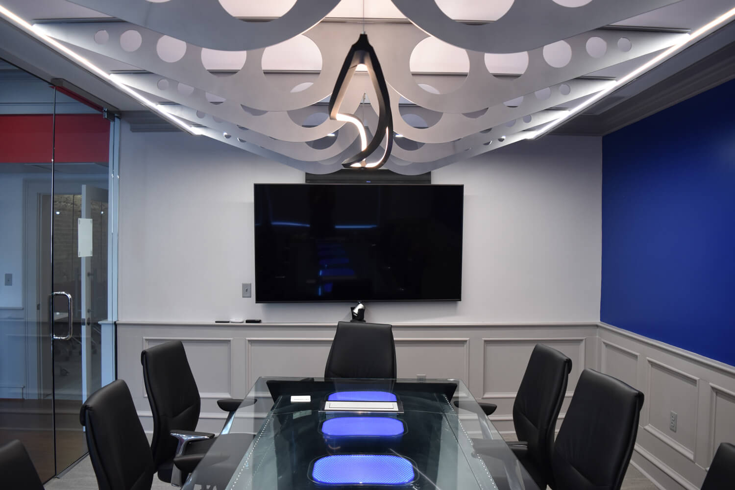 MGMWerx Collaboration Space - Conference Room - Designed by Foshee Architecture