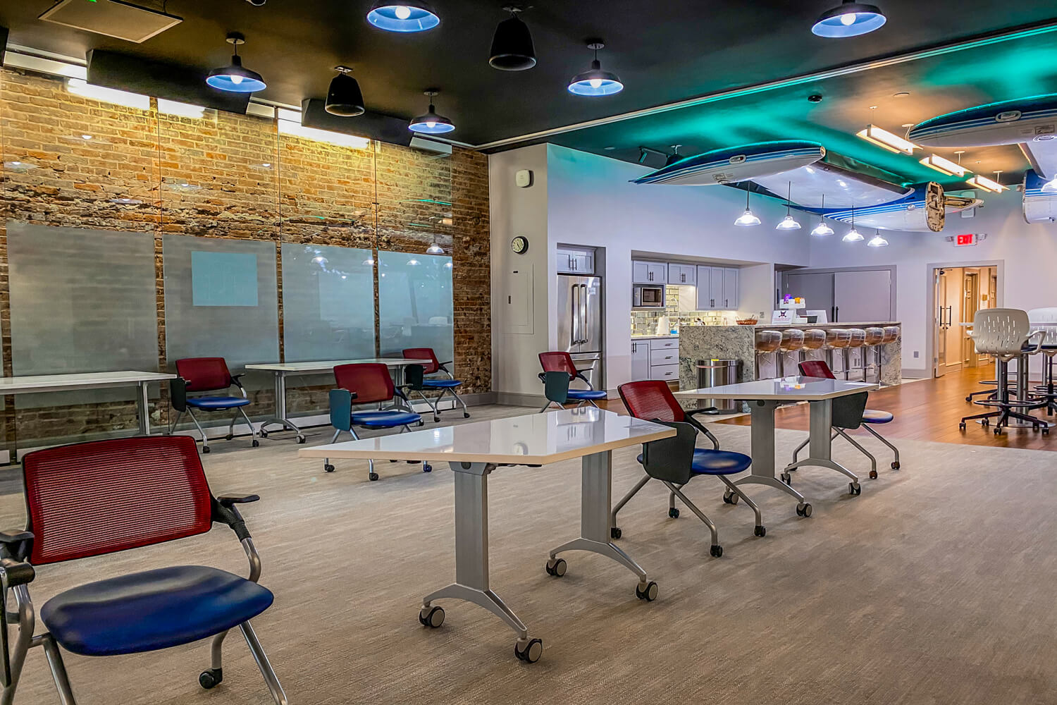 MGMWerx Collaboration Space - Meeting Area - Designed by Foshee Architecture
