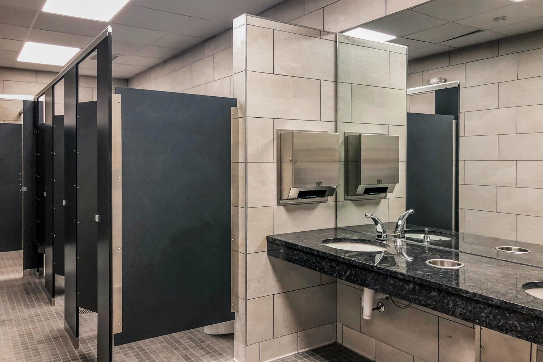 Torch 85 - Restroom - Designed by Foshee Architecture