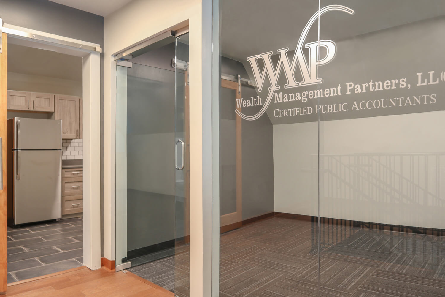 Wealth Management Partners - Logo and Branding - Designed by Foshee Architecture